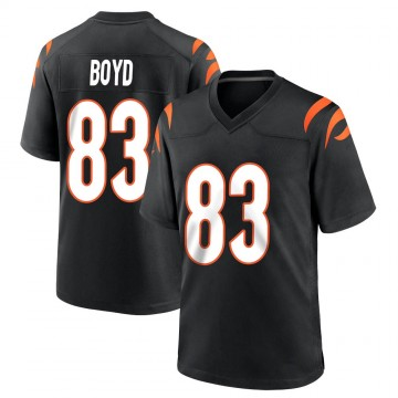 Youth Nike Cincinnati Bengals Tyler Boyd Black Team Color Jersey - Game