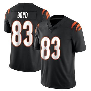 Youth Nike Cincinnati Bengals Tyler Boyd Black Team Color Vapor Untouchable Jersey - Limited