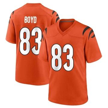 Youth Nike Cincinnati Bengals Tyler Boyd Orange Jersey - Game