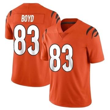 Youth Nike Cincinnati Bengals Tyler Boyd Orange Vapor Untouchable Jersey - Limited