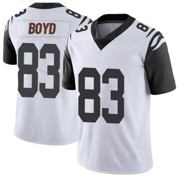 Youth Nike Cincinnati Bengals Tyler Boyd White Color Rush Vapor Untouchable Jersey - Limited