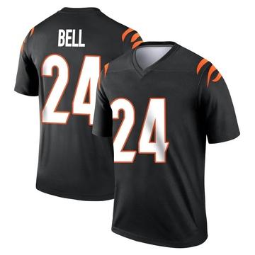 Youth Nike Cincinnati Bengals Vonn Bell Black Jersey - Legend