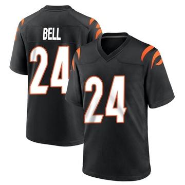 Youth Nike Cincinnati Bengals Vonn Bell Black Team Color Jersey - Game