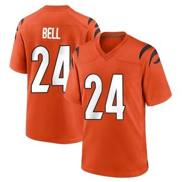 Youth Nike Cincinnati Bengals Vonn Bell Orange Jersey - Game