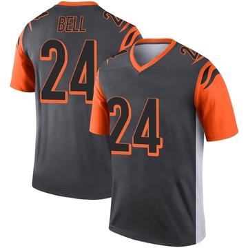 Youth Nike Cincinnati Bengals Vonn Bell Silver Jersey - Legend
