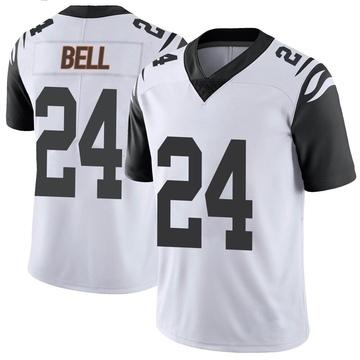Youth Nike Cincinnati Bengals Vonn Bell White Color Rush Vapor Untouchable Jersey - Limited