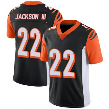 Youth Nike Cincinnati Bengals William Jackson Black 100th Vapor Jersey - Limited