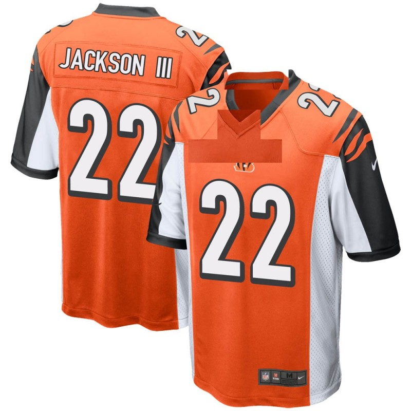 Youth Nike Cincinnati Bengals William Jackson III Orange Jersey - Game