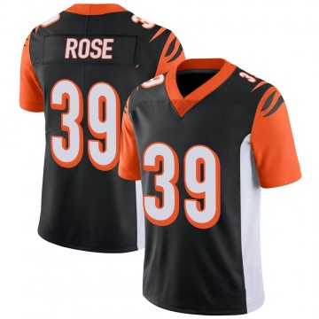 Youth Nike Cincinnati Bengals Winston Rose Black 100th Vapor Jersey - Limited