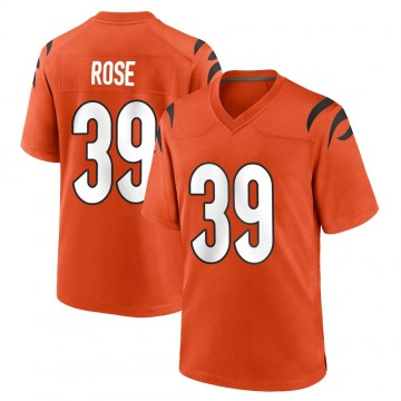 Youth Nike Cincinnati Bengals Winston Rose Orange Jersey - Game
