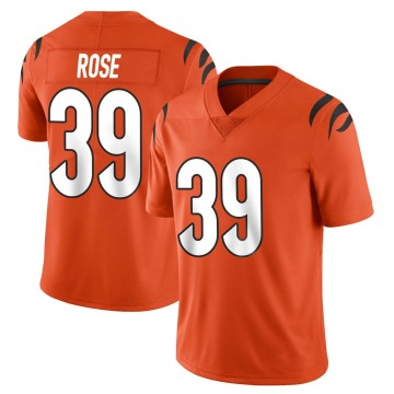 Youth Nike Cincinnati Bengals Winston Rose Orange Vapor Untouchable Jersey - Limited