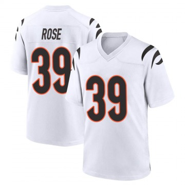 Youth Nike Cincinnati Bengals Winston Rose White Jersey - Game