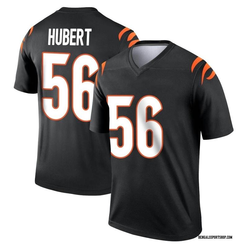 Youth Nike Cincinnati Bengals Wyatt Hubert Black Jersey - Legend