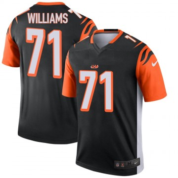 Youth Nike Cincinnati Bengals Xavier Williams Black Jersey - Legend