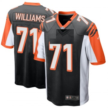 Youth Nike Cincinnati Bengals Xavier Williams Black Team Color Jersey - Game