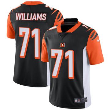 Youth Nike Cincinnati Bengals Xavier Williams Black Team Color Vapor Untouchable Jersey - Limited