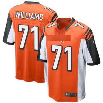 Youth Nike Cincinnati Bengals Xavier Williams Orange Jersey - Game
