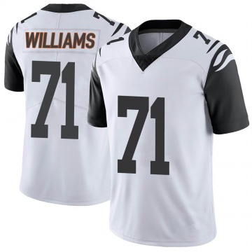 Youth Nike Cincinnati Bengals Xavier Williams White Color Rush Vapor Untouchable Jersey - Limited