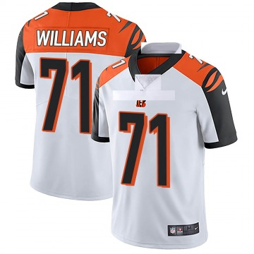 Youth Nike Cincinnati Bengals Xavier Williams White Vapor Untouchable Jersey - Limited